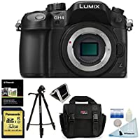Panasonic LUMIX DMC-GH4KBODY 16.05 MP Digital Single Lens Mirrorless Camera with 4K Cinematic Video (Body) + Panasonic SDUC Card 32GB U3 Card + Polaroid 50 inch Tripod + Ritz Gear Bag + Accessory Kit Noticeable Review Image