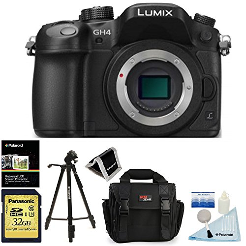 Panasonic DMC GH4KBODY Mirrorless Cinematic Accessory