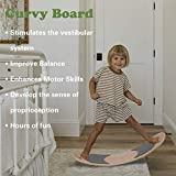 HAN-MM Wooden Balance Board Wobbel Balance Board
