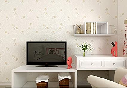 Ruisilite 3D Non Woven Wallpaper Sticker For Living Room Office Dinning Cafes Bar Club