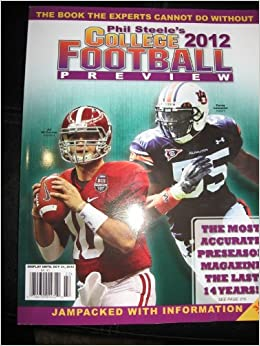 Phil Steele's College Footbal Preview 2012 Magazine (volume 18