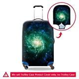 Creativebags Galaxy Suitcase Trollye Case Protector Bags Luggage Protective Cover
