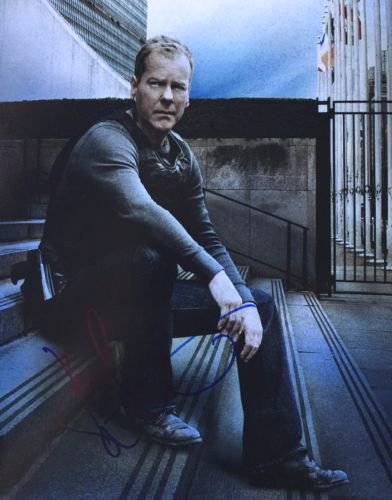 KIEFER SUTHERLAND - 24 Jack Bauer - Signed 8x10 Photograph MINT with COA & Proof Picture