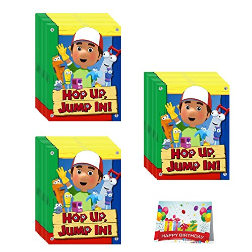 Handy Manny Birthday Party Invitations Bundle Pack of 24
