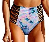 Women's Sexy Retro-Vibe High Waisted Bikini Bottom Crisscross - Best Reviews Guide