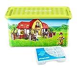 Playmobil 064663 Storage Box + Compartment Box, Farm