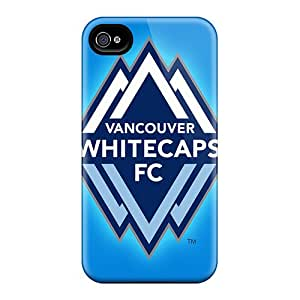 High Quality Shock Absorbing Case For Iphone 4/4s-vancouver Whitecaps
