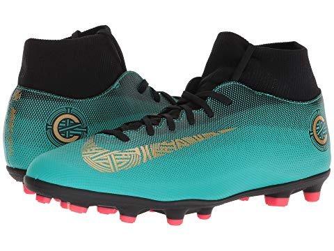 Nike Superfly 6 Club Cr7 Mg Mens Football Boots Aj3545 Soccer Cleats 13 M US Clear Jade/Gold B0761ZDZML