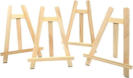 JZK 4 x Caballete madera para fiesta decoración de mesas boda ...