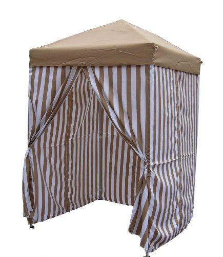 5'x5' Stripe Popup Pool (Cabana Tent)
