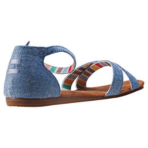 Correa Sand Schuh blue multi spkle chm Chambray