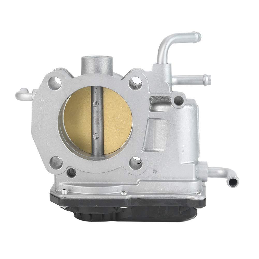 Duokon Cuerpo del acelerador ABS apto para RAV4//SOLARA 22030-28060 cuerpo del acelerador de aluminio