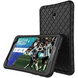 Samsung Galaxy Tab A 8.0 (2017 Release) Silicone Case for Model T380/T385 Light Weight Shock Proof Silicone Cover Anti Slip [Kids Friendly ] for Galaxy Tab A 8.0 Inch(Black)