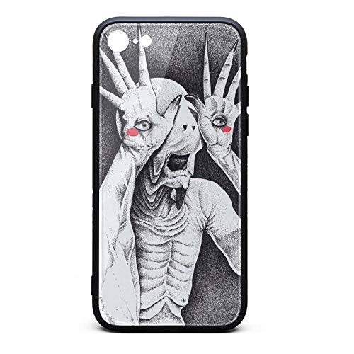 Compatible iPhone 6/6s Plus Case Tempered Glass Shockproof Pan's-Labyrinth-(2)- Anti-Scratch Slim TPU Protective Case for iPhone 6/6s Plus 5.5Inch