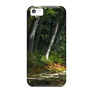 Shock-Absorbing Hard Cell-phone Case For Iphone 5c (agc1154ldIY) Provide Private Custom Colorful The Jungle Book Skin