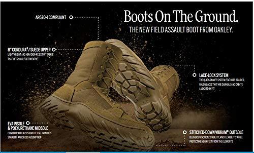 Oakley Field Assault Boot Coyote Size 10.5 11194-86W AR670-1 ()