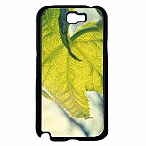 Detailed Bright Green Leaf TPU RUBBER SILICONE Phone Case Back Iphone 5C