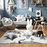 Kids Carpet Baby Rug World Map Crawling Mat Safely Funny Children Play Mat