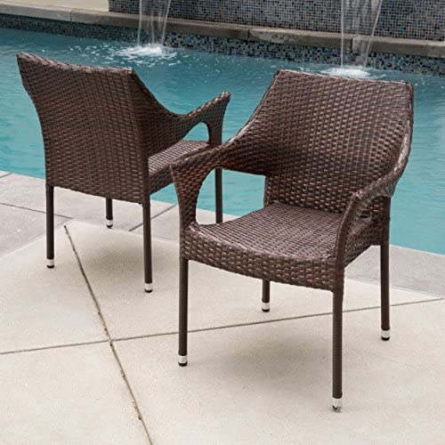 Christopher Knight Home Cliff Outdoor Wicker Chair