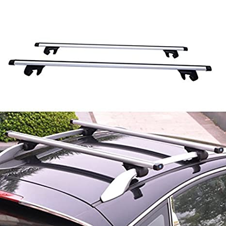 2017 New Universal 48 Inch Car Top Luggage Cross Bars Luggage Cargo Carrier  Roof Rack Locking