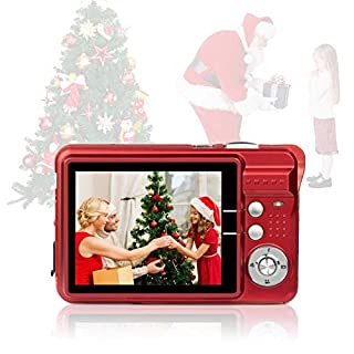 HD Mini Digital Cameras for Photography,Point and Shoot Digital Cameras for Kids Students Teens-Travel,Camping,Gifts