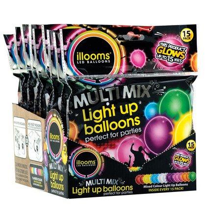 Illoom Balloon Light 15pk Plain product image