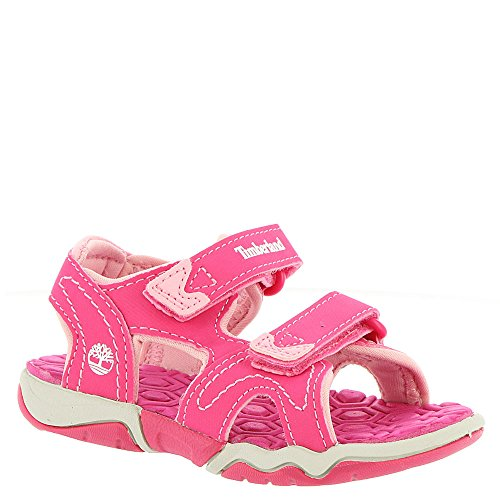 - Timberland unisex-baby Adventure Seeker 2-Strap Sandal Pink Majority Synthetic without Leather 12M