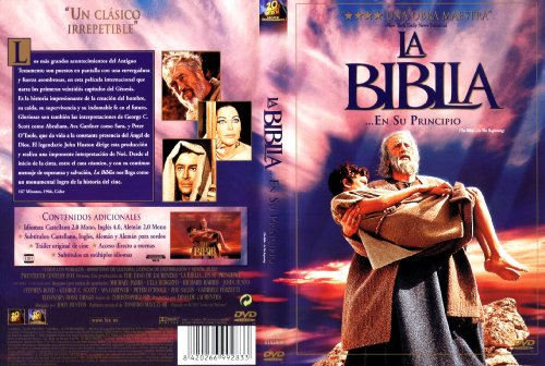 The Bible: In The Beginning - La Biblia... En Su principio - (Non USA Format)