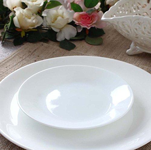 Vitrelle Pour 18 Corelle Verre Pièces 6 En Service Blanc De Personnes Vaisselle tvBwvp