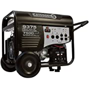 Category 5 Electric Start Generator - 9375 Watts, Wireless Remote Control, Model# 41535
