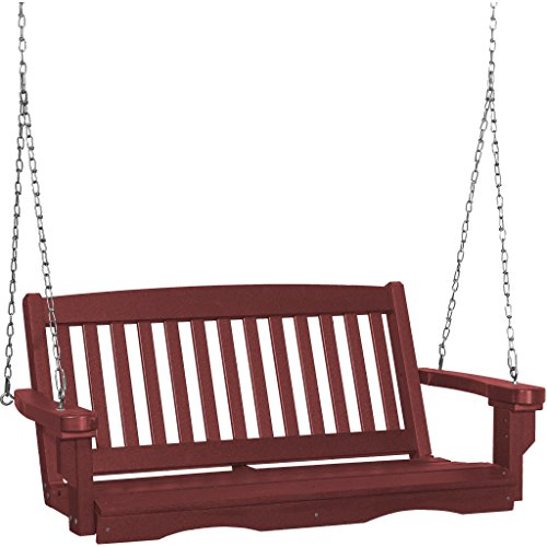 Wildridge Recycled Plastic Classic Mission 4ft Porch Swing