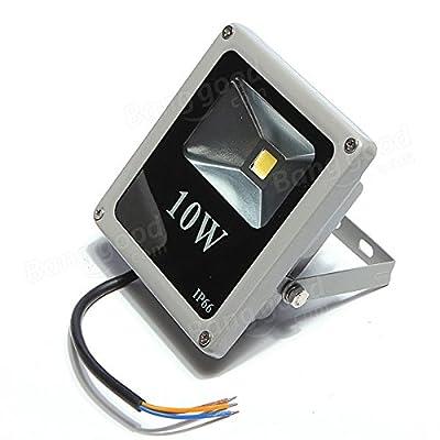 10W White/Warm White IP66 LED Flood Wash Outdoor AC85-265V - Outdoor Lighting LED Flood Lights - 1 × Monocular
