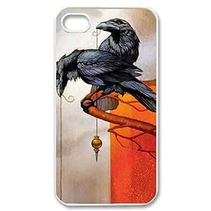 YAYADE Phone Case Of Dark crow for iPhone 4/4S