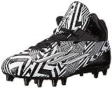 adidas Performance Men's Filthyspeed Mid Football Cleat, Black/Platinum, 9 M US
