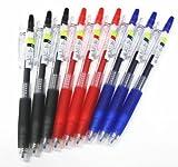 pilot juice blue black - Pilot Juice Retractable Premium Gel Ink Roller Ball Pens, Ultra Fine Point,-0.38mm- Black .Blue.red Ink Each 3 Pens/total 9 Pens Value Set(with Our Shop Original Description of Goods)
