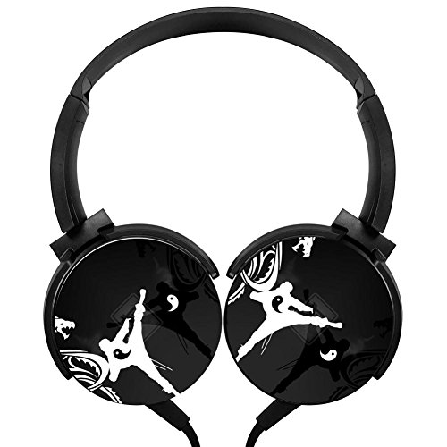 bc3cb8980b6 Xerjij Ninja Wired Stereo Headset cool Bass Headphones for Computers Mobile  Devices 50%OFF