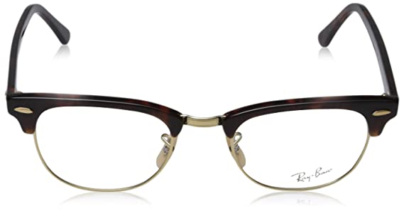 dd95bcde2ff Amazon.com  Ray Ban frame RX 5154 RX5154 2372 Metal - Acetate Brown   Clothing