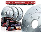 Power Stop K2798 Front & Rear Brake Kit with