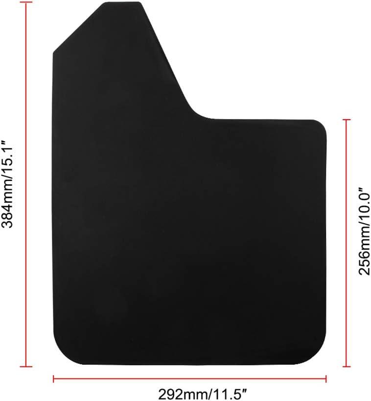 Almencla 4 x Schmutzf/änger f/ür Kotfl/ügel//SpritzSchutz//Spritzlappen Schmutzlappen f/ür MF12-BAS-BLK