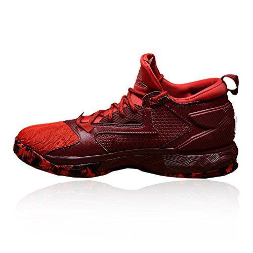 De Chaussure D Basketball S Adidas 2 Bounce Lillard Rouge FqA7qU