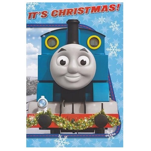 Thomas y sus amigos - tarjeta de Navidad: Amazon.es: Hogar