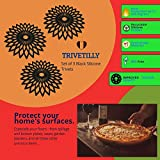 TRIVETILLY - Star Retro Silicone Trivets for Hot
