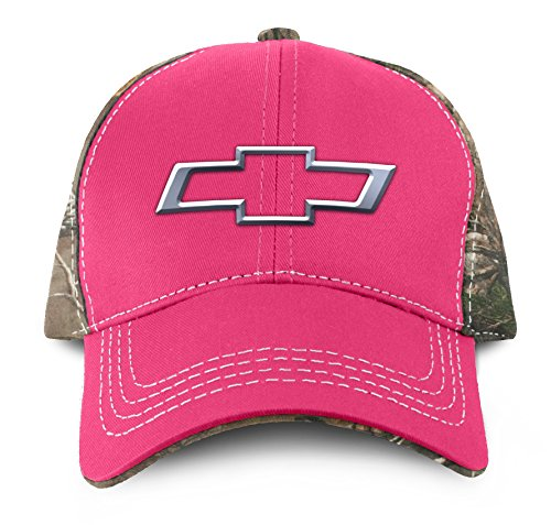 (Buck Wear Chevy-Bowtie Pink Hat, Multicolor, One Size)