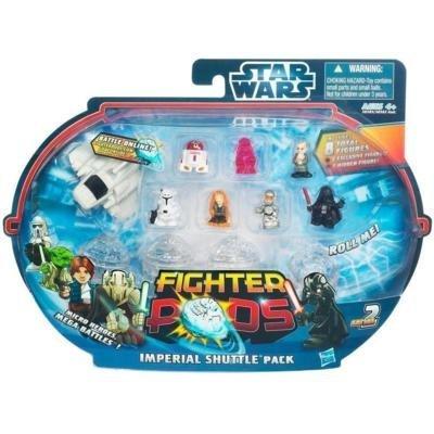 Star Wars Series 2 Fighter Pods - Imperial Shuttle Pack - 8 RANDOM Figures