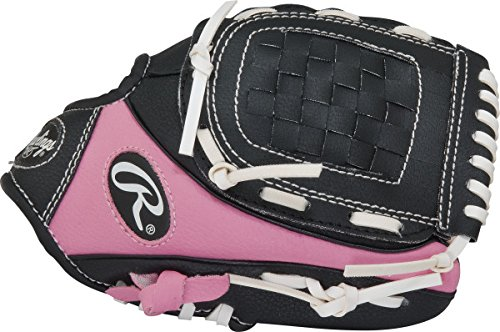 Rawlings Player Series T-Ball Pattern, Pink, Right Hand Throw, 9-Inch