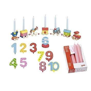 Goki Cumpleaños Tren Circo zikus Mundo Números 1 - 10 10 ...