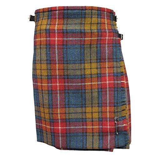 Glen Appin Donna Originale Shetland Lana Kilt Disponibile in Vari Tartan Antico Buchanan