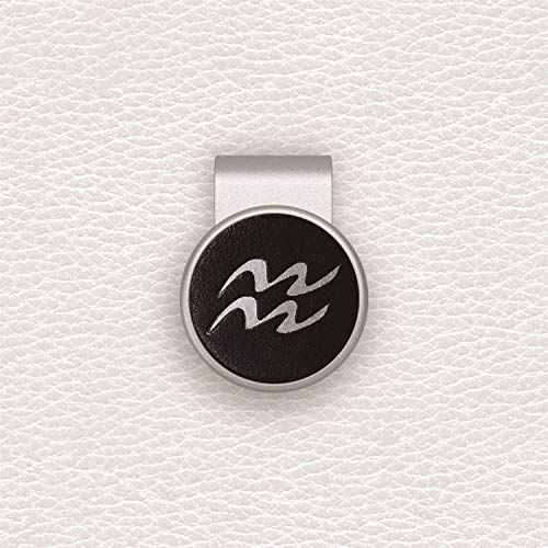birdea Golf Ball Marker with Magnetic Hat Clip- Silver Series