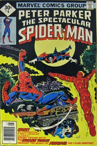 Peter Parker The Spectacular Spider-Man (Vol. 1 No. 6, May 1977) (The Power To Purge!)