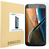 Moto G 4th Generation Screen Protector, PLESON® [Full Coverage] Moto G4 Tempered Glass Screen Protector,[Easy-install Sticker] 0.26mm/Bubble Free,Screen Protector for Moto G 4th Gen-Lifetime Warranty